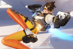 Overwatch Tracer Wallpaper