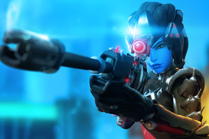 Overwatch Widowmaker 4k