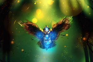 Owl Art 4k