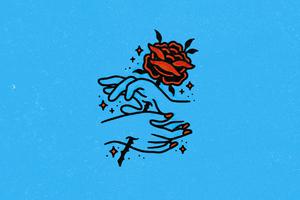 Painful Love Rose Wallpaper