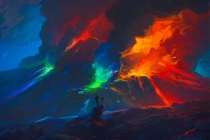Paint Eruption