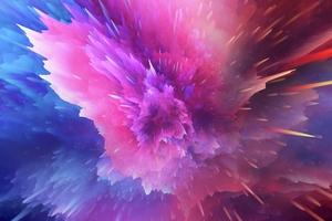 Paint Splash Color Burst 4k
