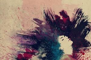 Paint Splatter Abstract Wallpaper
