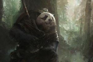 Panda Soldier 4k Wallpaper