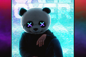 Panda With No Worries