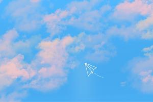 Paper Flight 4k Wallpaper