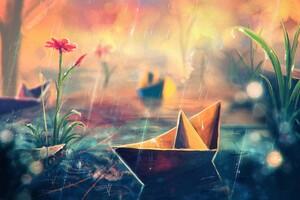 Paperboats Artwork