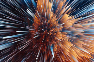 Particles Abstract