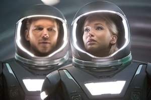 Passengers 2016 Movie Chris Pratt Jennifer Lawrence Wallpaper
