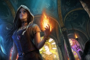 Path Of Exile Fantasy Girl Artwork