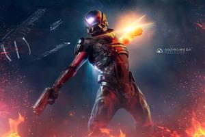 Pathfinder Mass Effect Andromeda 4k Wallpaper