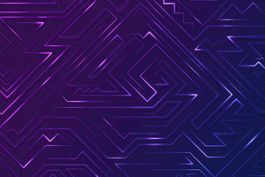 Pattern Violet Graphics 4k Wallpaper