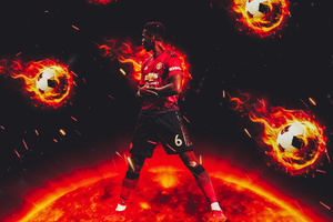 Paul Pogba 4k Wallpaper