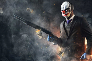 Payday 2 2019 4k Wallpaper