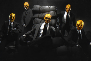 Payday Gold Crew Wallpaper