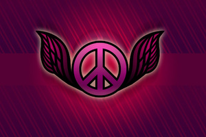 Peace Logo Abstract