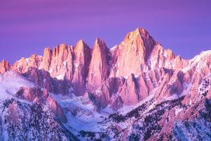 Peaks Of Mount Whitney Wallpaper