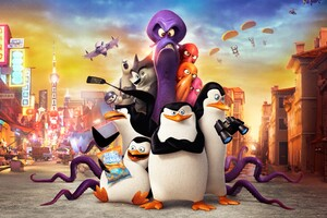 Penguins Of Madagascar Movie Wallpaper