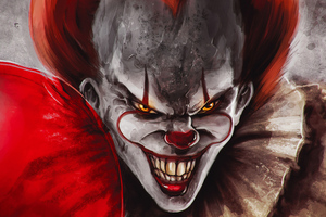 Pennywise Joker Wallpaper
