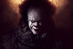 Pennywise The Clown Fanart Wallpaper
