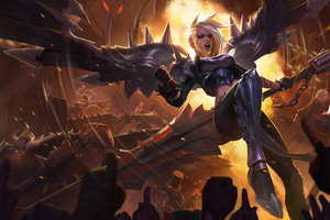 Pentakill Kayle Artwork League Of Legends