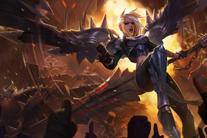 Pentakill Kayle League Of Legends 4k Wallpaper