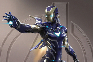 Pepper Potts Rescue Armor 4k