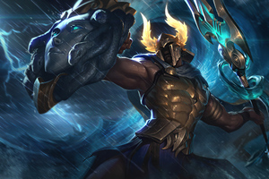 Perseus Pantheon League Of Legends Wallpaper