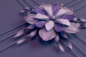 Petals Abstract Wallpaper
