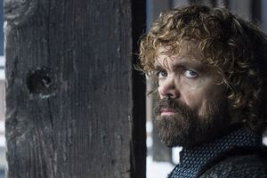 Peter Dinklage As Tyrion Lannister Game Of Thrones Season 8 Wallpaper