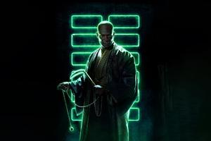 Peter Mensah As Blind Master In Snake Eyes 8k Wallpaper