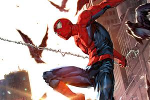 Peter Parker Sinister War 4k Wallpaper