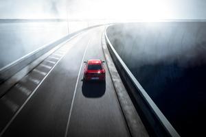 Peugeot 508 Cruising On Highway