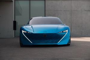Peugeot Instinct 2017 Front View 4k