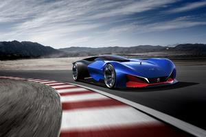 Peugeot L500 R Hybrid Racing Concept