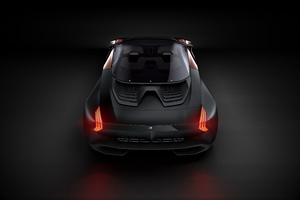 Peugeot Onyx Concept Rear