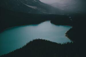 Peyto Lake 5k