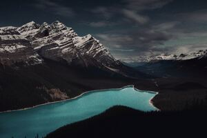 Peyto Lake Banff Canada 5k Wallpaper