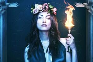 Phoebe Tonkin in The Originals Wallpaper