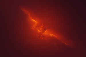 Phoenix In Red Clouds 4k