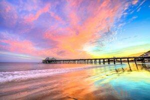 Pier Beach California