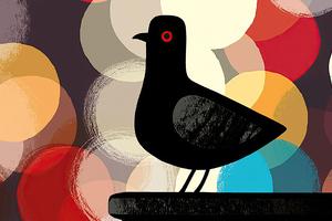 Pigeon Artistic Art