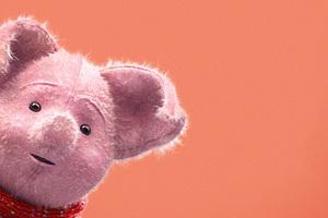Piglet In Christopher Robin 2018 Movie 5k