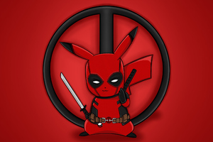 Pika Deadpool