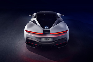 Pininfarina Battista 2019 Rear Wallpaper