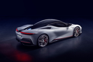 Pininfarina Battista 2019 Rear View Wallpaper