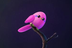 Pink Birb
