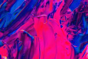 Pink Purple Color Abstract 5k