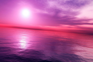 Pink Purple Sky 4k Wallpaper