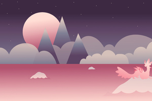 Pink World Minimalist
